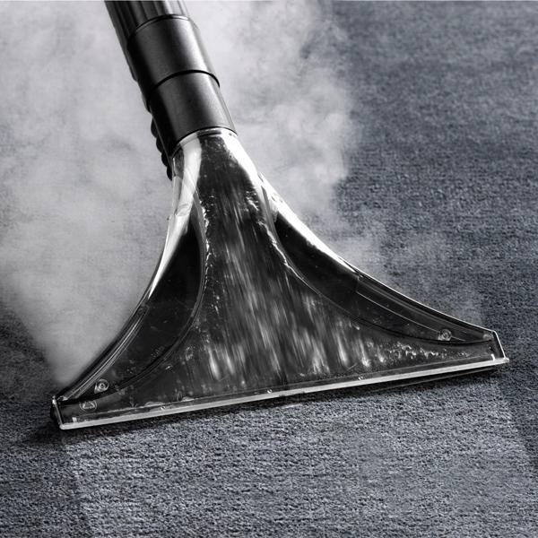 inside a steam cleaner