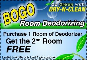 BOGO Room Deodorizing